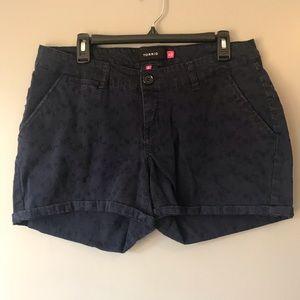 Torrid navy blue shorts size 14